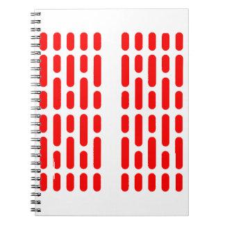 Deathstar Interior Lighting RED ALERT Notebook