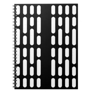 Deathstar Interior Lighting Spiral Notebook