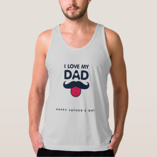 Débardeur Homme Jersey Fin Father's Day Tank Top