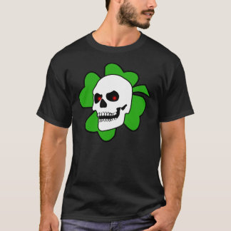 Debasedtothis Skull and Clover tee