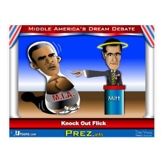 Debate Flick Postcard