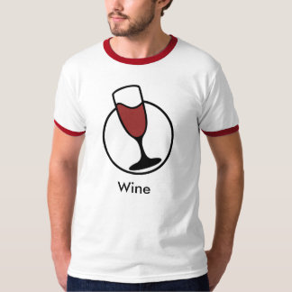 Debian Wine T-shirt