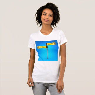 Debit Credit Womens T-Shirt