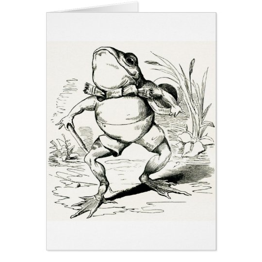 Debonair Frog, Card