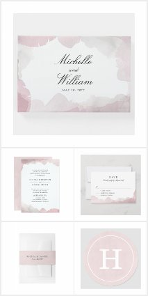 Debonair Wedding | Blush Pink