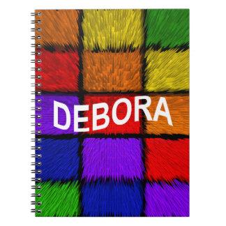 DEBORA SPIRAL NOTE BOOKS