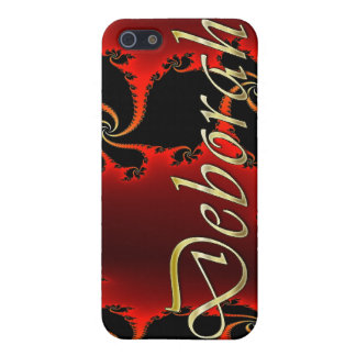 DEBORAH Name Branded iPhone Cover iPhone 5 Cover