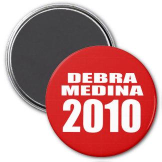 DEBRA MEDINA 2010 REFRIGERATOR MAGNETS