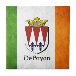 DeBryan Irish Flag Ceramic Tiles