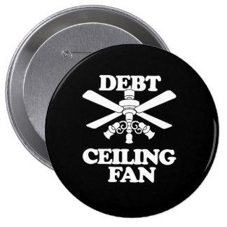 DEBT CEILING FAN 4 INCH ROUND BUTTON
