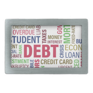 Debt-credit,loss Belt Buckles