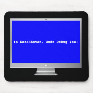 Debug Blue Screen Mouse Pad