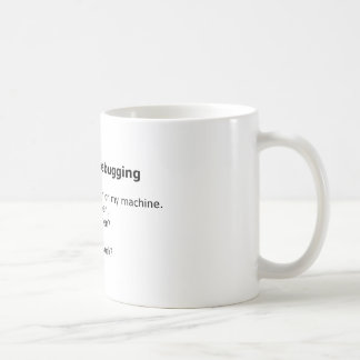 Debug Mug: Six Stages of Debugging Coffee Mug