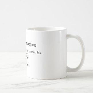 Debug Mug: Six Stages of Debugging Coffee Mug