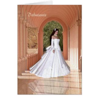 Debutante Congratulations Card