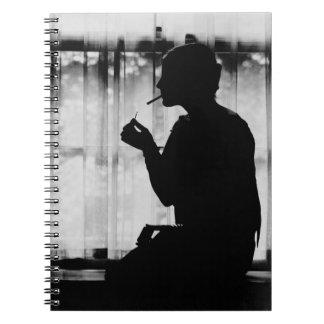 Debutante Smoking 1920 Notebooks