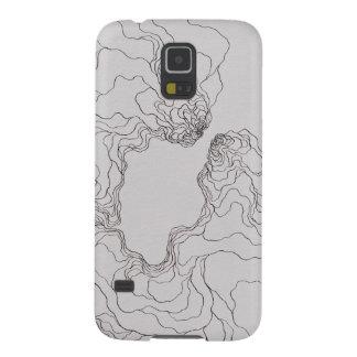 Débutants Katie (topographique) Protections Galaxy S5