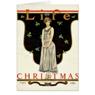 Dec 1923 Christmas illustration by Coles Phillips Card