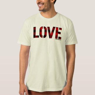 """Decades """"Love"""" T-Shirt (Plaid)"""