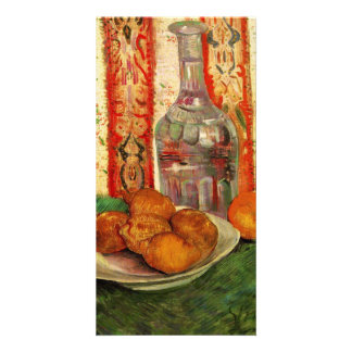 Decanter and Lemons on a Plate by van Gogh Photo Card Template