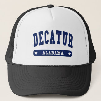 Decatur Alabama College Style tee shirts Trucker Hat