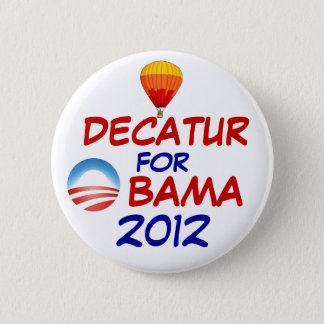 Decatur for Obama 2 Inch Round Button