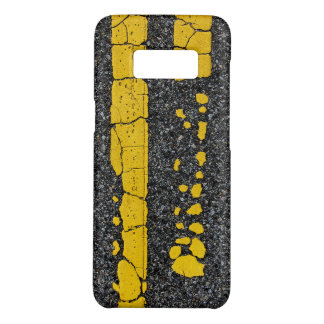 Decayed Double Yellow Line Case-Mate Samsung Galaxy S8 Case