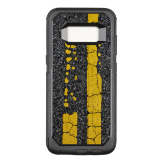 Decayed Double Yellow Line OtterBox Commuter Samsung Galaxy S8 Case