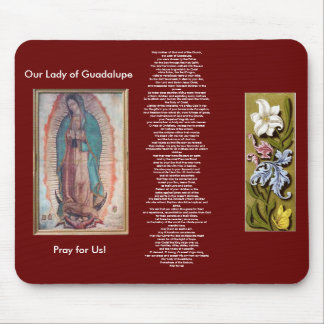December 12   Our Lady of Guadalupe Mouse Pad