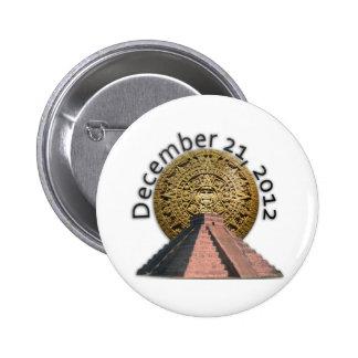 December 21 2012 Mayan Calendar Pins
