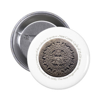 DECEMBER 21 2012 The New Beginning commemorative Pinback Button