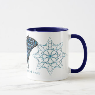 December Birthstone Butterfly Mug