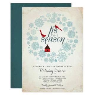 December Invitation, tis the season Card
