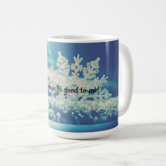 December,please be good! coffee mug