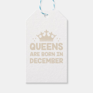 December Queen Gift Tags