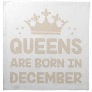 December Queen Napkin