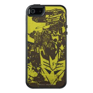 Decepticon Grunge Collage OtterBox iPhone 5/5s/SE Case