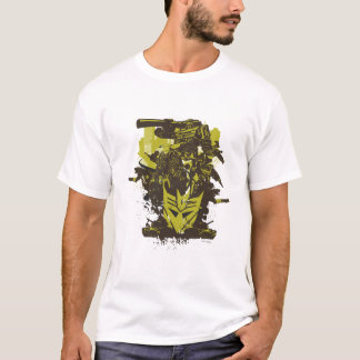 Decepticon Grunge Collage T-Shirt