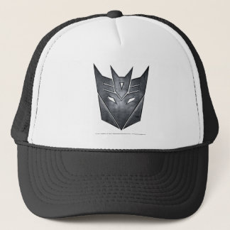 Decepticon Shield Metal Trucker Hat