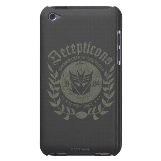 Decepticons 1984 - Your Knowledge iPod Case-Mate Case