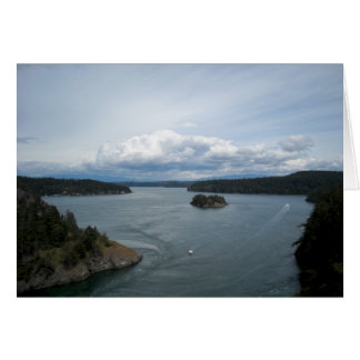 Deception Pass View Card