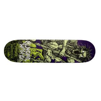 Déchets municipaux - planche à roulettes agressive mini skateboard 18,4 cm