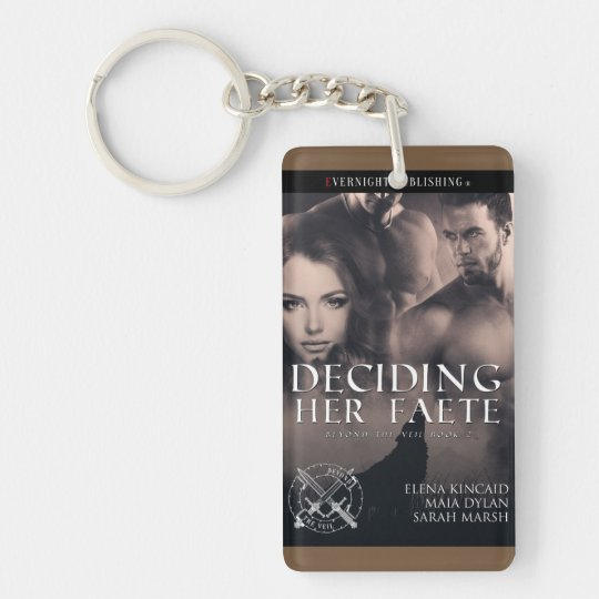 Deciding Her Faete Keychain