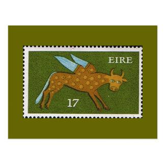 Decimal Postage Stamp of Eire Ireland 1974 Postcard