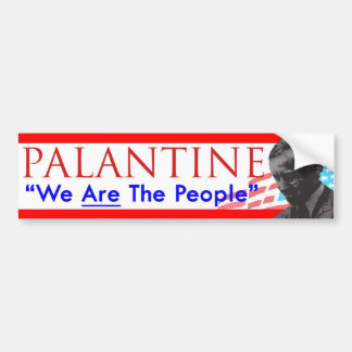 Decision 2012 Vote Palantine We Are the People Bumper Sticker