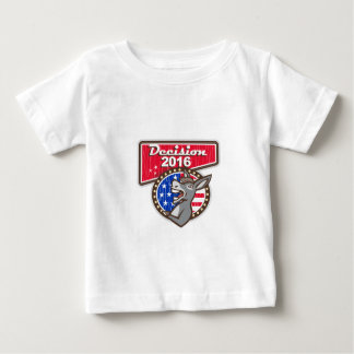 Decision 2016 Democrat Donkey Baby T-Shirt