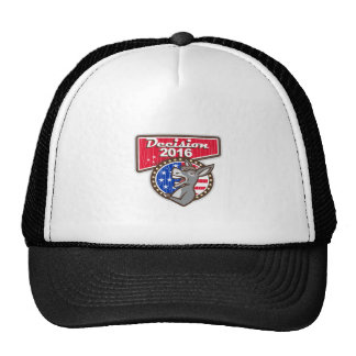 Decision 2016 Democrat Donkey Trucker Hat
