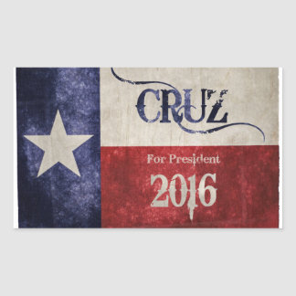 Decision 2016 - Ted Cruz (R-TX) for President! Sticker