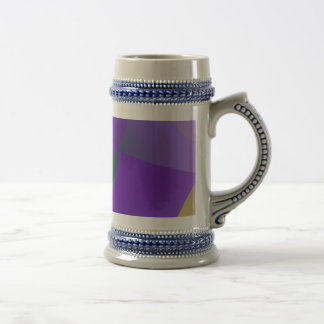 Decisive Woman Lavender Abstract Coffee Mugs