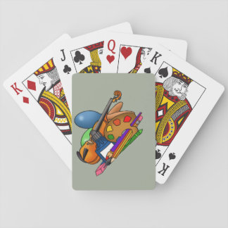 deck, cards, custom, design, standard, size playing cards